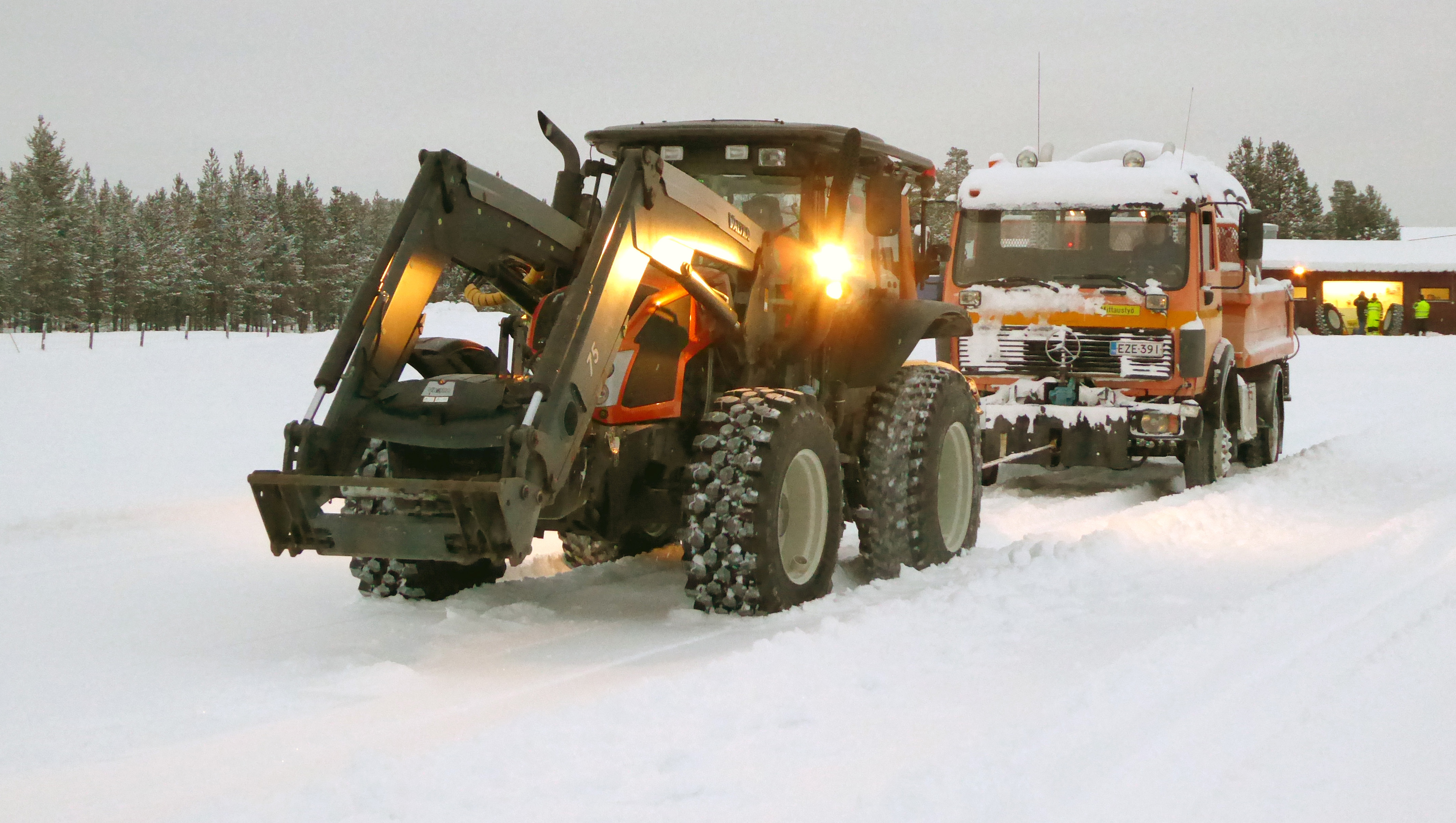 Winter Testing Of Tyres In Support Of Tyre Makers R D See Also
