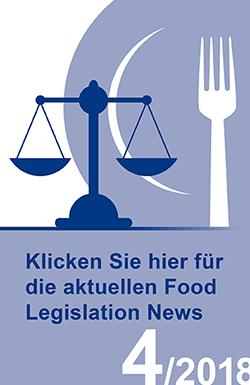 Food Legislation News, Ausgabe 4/2018