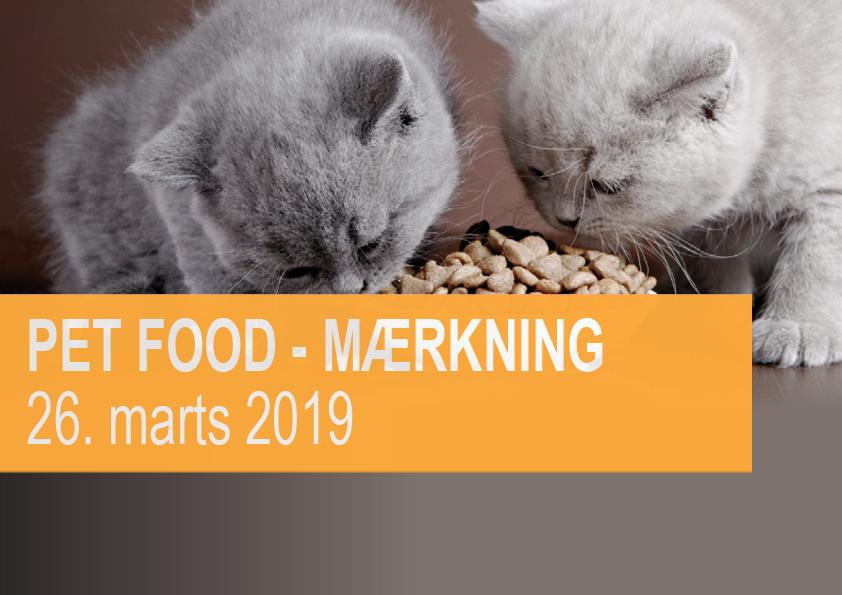 Pet food mærkning