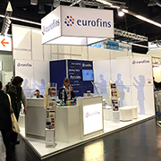 Eurofins exhibition booth
