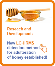Research and Development: New Eurofins LC-HRMS detection method for adulteration of honey established