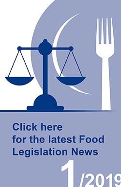 Icon of Food Legislation News, Issue No. 1/2029
