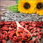 sunflower seeds, goji berries... additional organic controls on organic products from China