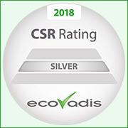 Ecovadis Nachhaltigkeitsrating in Silber für Eurofins WEJ Contaminants