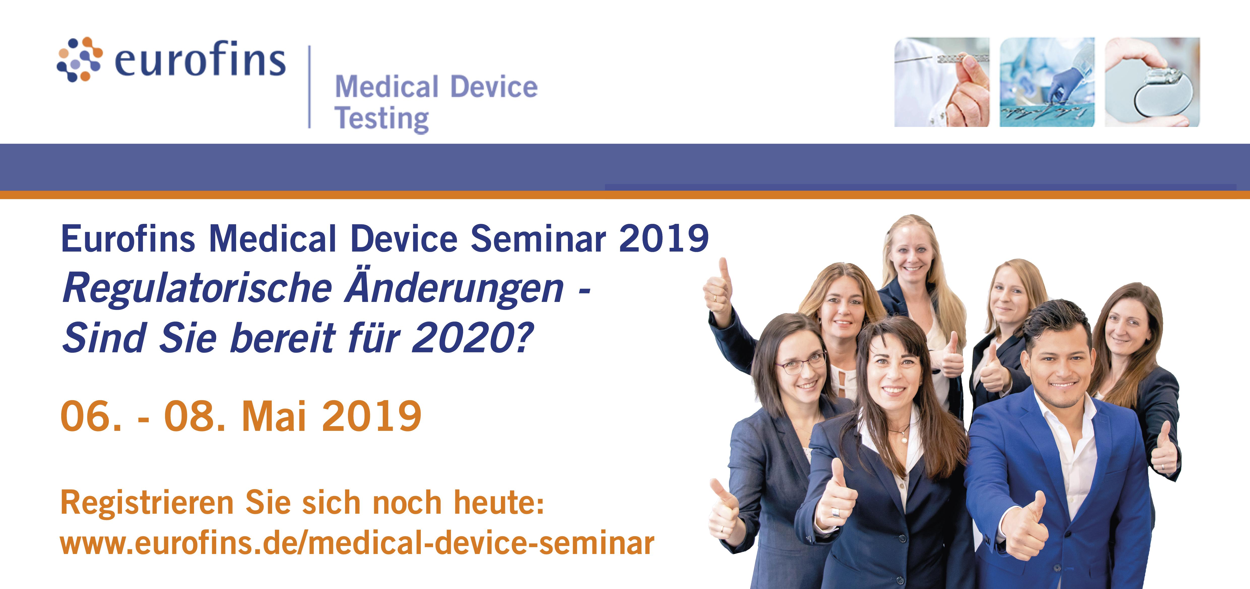 Medizinprodukte Seminar MDR