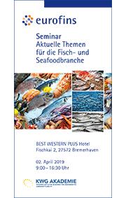 Zum Download: Seminarprogramm Aktuelle Themen für die Fisch- und Seafoodbranche