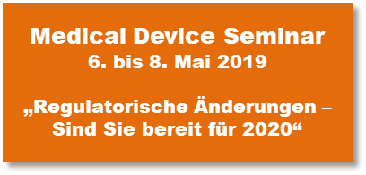 Medical Device Seminar 2019