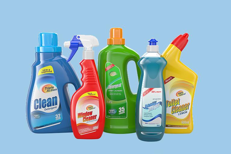Deterjanlar , Bakım Kimyasalla