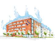 Eurofins Neubau am Neuländer Gewerbekamp 2-4
