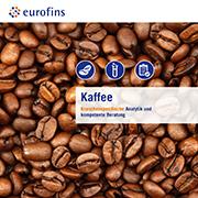 Eurofins Broschüre Kaffee