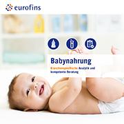 Eurofins Broschüre Babynahrung