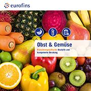 Eurofins Broschüre Obst und Gemüse