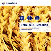 Eurofins Broschüre Getreide und Cerealien