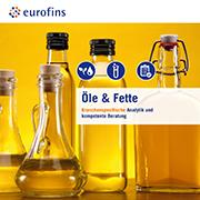 Eurofins Broschüre Öle und Fette