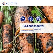 Eurofins Broschüre Bio-Lebensmittel