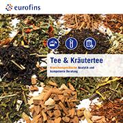 Eurofins Broschüre Tee und Kräutertee
