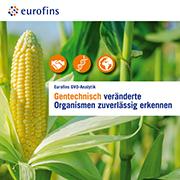 Eurofins Broschüre Gentechnisch veränderte Organismen (GVO)