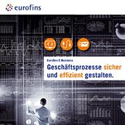 Eurofins Broschüre Geschäftsprozesse sicher und effizient gestalten