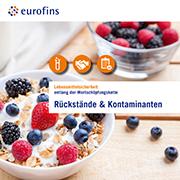 Eurofins Broschüre Rückstände & Kontaminanten