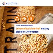 Eurofins Broschüre Lebensmittelsicherheit entlang globaler Lieferketten