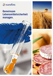 Eurofins Food Testing Germany - Imagebroschüre