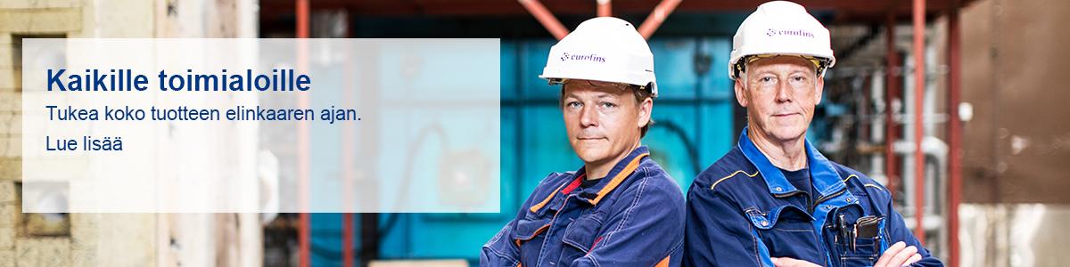 Eurofins Expert Services kaikille toimialoille