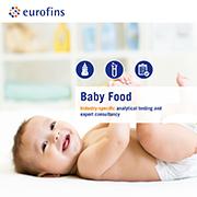 Eurofins brochure Baby Food