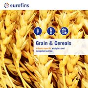 Eurofins brochure Grains & Cereals