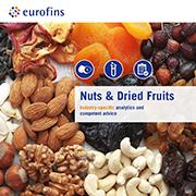 Eurofins brochure Nuts & Dried Fruits