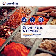 Eurofins brochure Spices, Herbs & Flavours