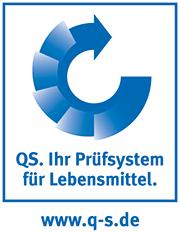 QS Logo - Prüfsystem für Lebensmittel