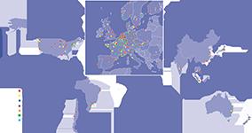Eurofins på verdensplan