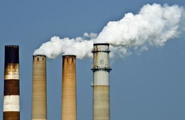 Emissionen Schornstein