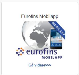 Eurofins Mobilapp Sverige