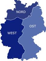 Regionen Eurofins Umwelt