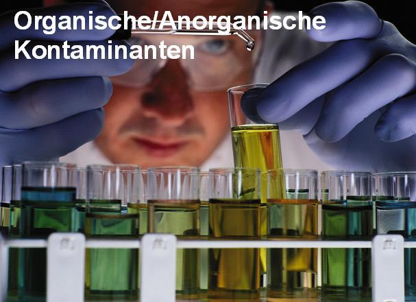 Analytik-org-anorg Kontaminanten