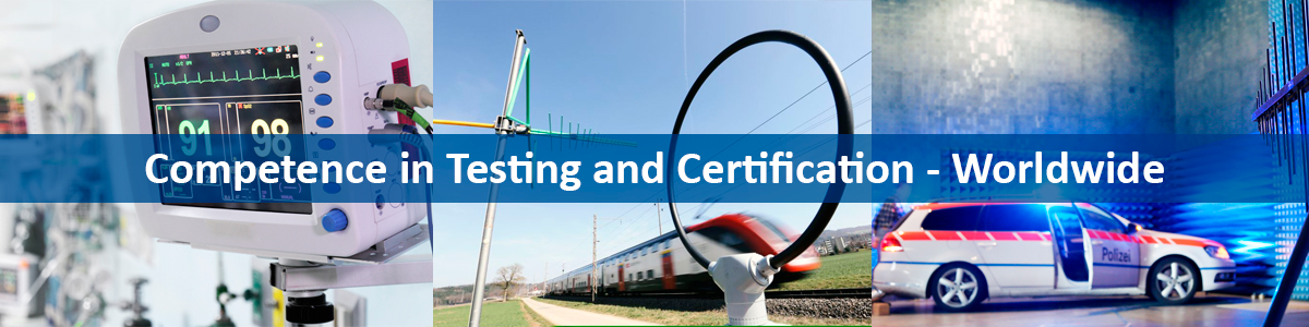 Equipment testing and certification