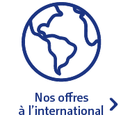 Nos offres à l'international