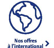 Nos offres à l'international
