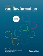 Formation Catalogue Eurofins