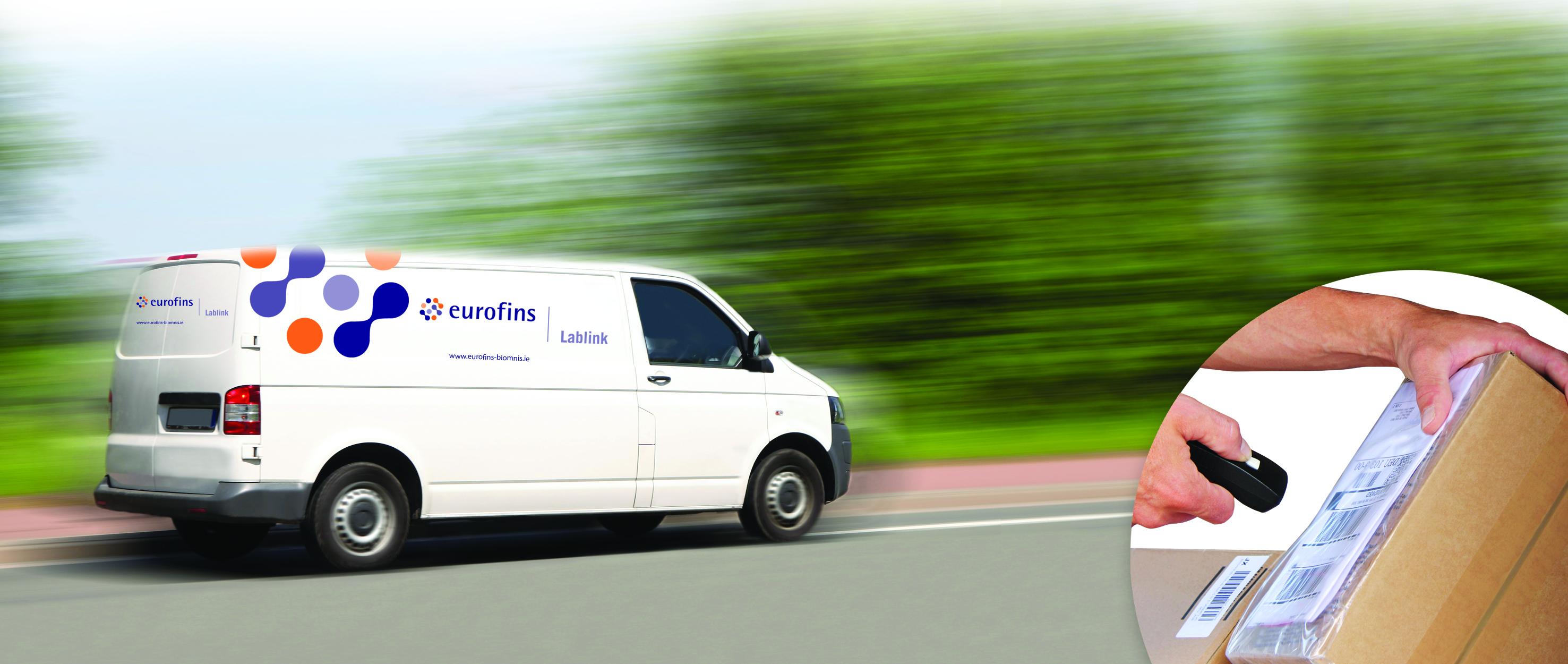 Eurofins Lablink Van
