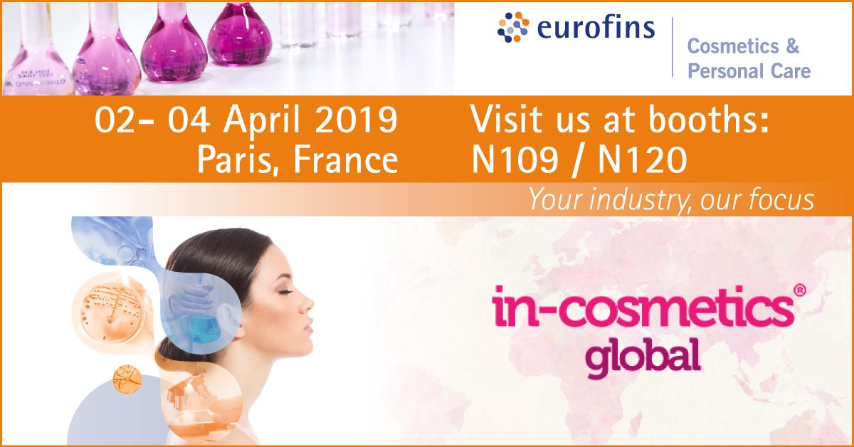 Eurofins Incosmetics 2019 banner