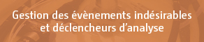 gestion evenements indesirables