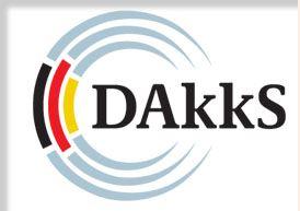 dakks logo fuer die Akkreditierung