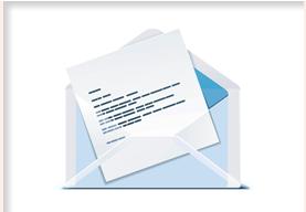 offener Briefumschlag mit Schreiben für das Testergebnis beim DNA Test