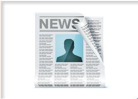 Bild von einer Zeitung